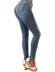 JEANS COLORS 9106, FUCSIA